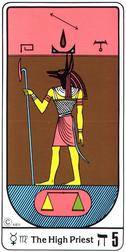 Tarot Card No. 5